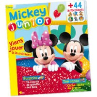 Magazine Mickey Junior N 376 coloriages, surprises questions